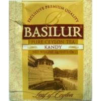 Черный чай Basilur в саше Канди лист Цейлона 1шт