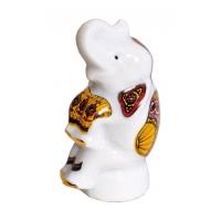 Фарфоровый мини-слоник с черным чаем арт. 10-081