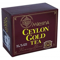 Черный чай Mlesna Цейлон Голд в пакетиках арт. 02-013 100г