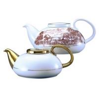 Фарфоровый чайник Семейный пз 800мл арт 10-027