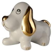 Фарфоровая собака пз с черным чаем арт. 10-036 50г