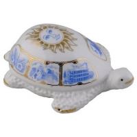 Фарфоровая черепаха с росписью арт. 10-040 25г