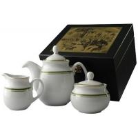 Фарфоровый сервиз Грин лайн с чаем арт 10-058 100г