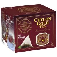 Черный чай Mlesna Цейлон Голд в пакетиках арт. 02-099 30г.