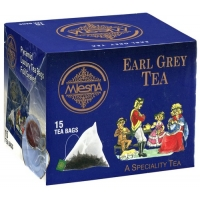 Черный чай Mlesna Эрл грей в пакетиках арт. 02-101 30г.