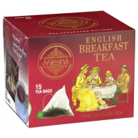 Черный чай Английский завтрак в пакетиках арт. 02-097 30г.
