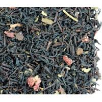 Черный чай Земляника со сливками Світ Чаю 250г