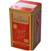 Черный чай Akbar (Акбар) Royal Gold с ложкой жб 250г